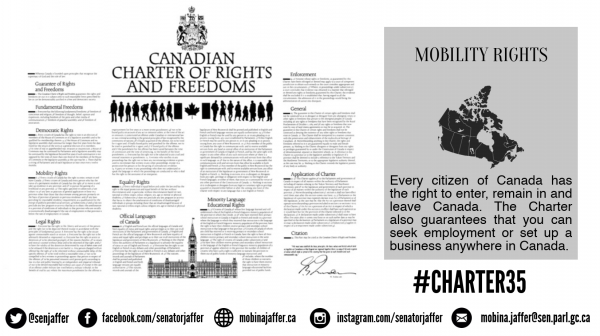 The Canadian Charter of Rights and Freedoms: Mobility ...