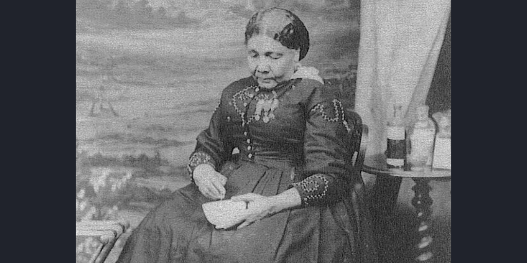 Only known photograph of Mary Seacole (1805-1881), taken c.1873 by Maull & Company in London by an unknown photographer
